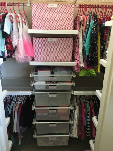 AFTER - Little Girl's Closet