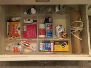 BEFORE - Bathroom Drawer