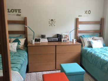 TCU Model Dorm Room 2016